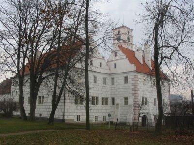 Žichovice - zámek