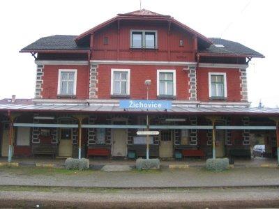 Žichovice - nádraží